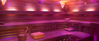 Spa sauna at Seaside Grand Hotel Residencia
